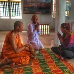 Ceremony in Cambodia
