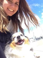 With adorable Story in Coronado - we both enjoyed our walks a lot!