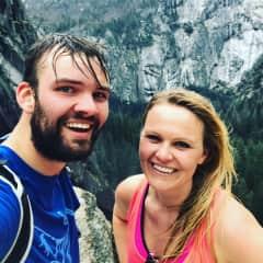 Hiking in Yosemite with my Jake <3