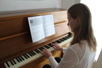 I love playing my piano!