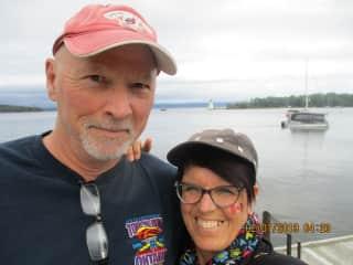John and Sharon