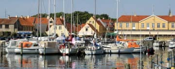 The historic harbor town
