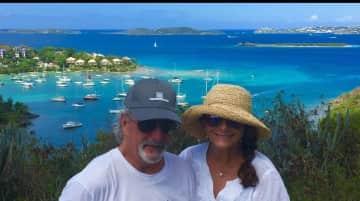 Tom & Susanne traveling.