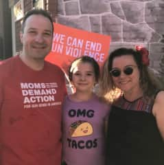 I am a volunteer leader for the Moms Demand Action for Gun Sense in America Maryland Chapter
