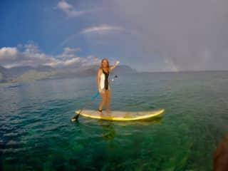 I am a mermaid who lives on land .sharing the ALOHA spirit