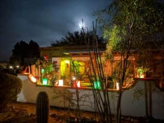 My Arizona home at Christmas