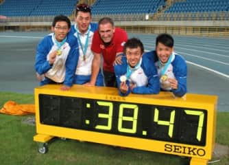 Olympic Coach for Hong Kong-China in 2012