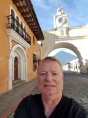 Selfie taken in Antigua Guatemala, July 2016