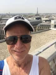 Me and the Eiffel Tower in the background.
