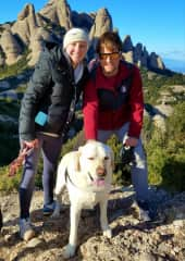 Hiking Montserrat with Harry in Catalonia