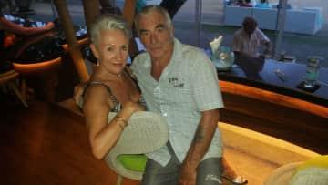 Geraldine and Brian