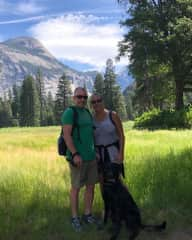 Yosemite with Oliver.