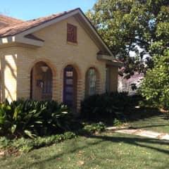 our central Austin bungalow