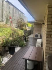 Side house and bbq area. BBQ available