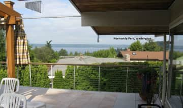 View deck in Seattle area home