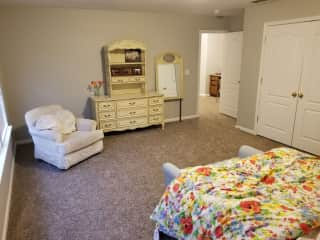 Room for our wonderful house sitters!