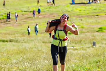 Doing one of my events - this was Spartan Beast!