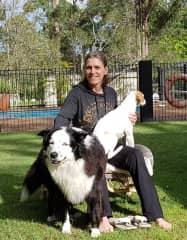 Laurie with Max and Henry, Australia