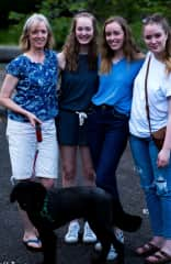 Blaze and I and our 3 daughters, Mothers day 2019.