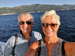 Spending some much loved time on the water in Croatia