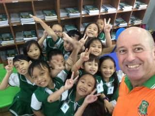 Cambodian kids are great fun.