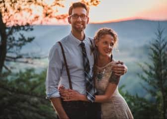 Matt and Jessica in the Kickapoo Valley, Wisconsin