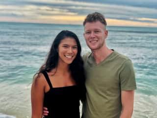 My boyfriend & I in Honolulu