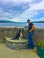 Anthony and Alfie in Ireland