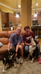 Not so fond of picture taking, us or the dogs :)