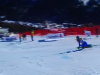 Downhill skier in Switzerland, I like to ski a lot and be in the mountains.