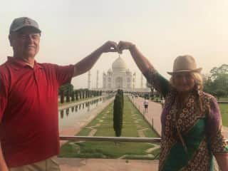 A recent trip to India.