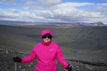 Trekking Volcanoes...