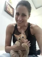 My AirBnB kitty friend in DaNang, Vietnam