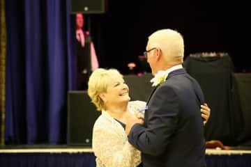 Hilary and John