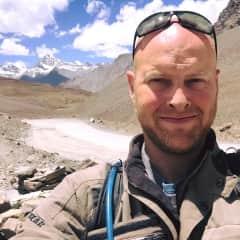 Outside Ladakh, India.