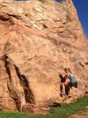 bouldering near Zion National Park