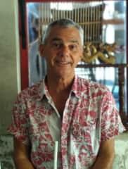 My favorite Hawaiian shirt...it's been all over the world!