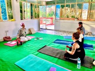 Budding as a Kundalini yoga teacher..