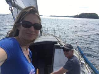 Sailing on Lake Lanier!