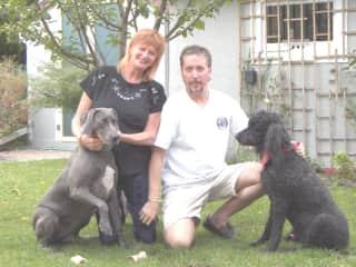 Eva, Marjie, Tony and Charlie