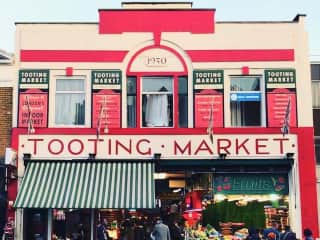 Tooting Market Entrance