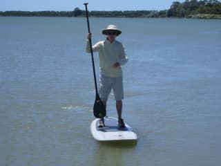 Stephen - paddleboarding
