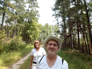 Hiking Angelina National Forest
