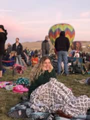 Me at the annual Reno balloon races
