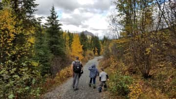 As a family we enjoy hiking and being outdoors as much as possible