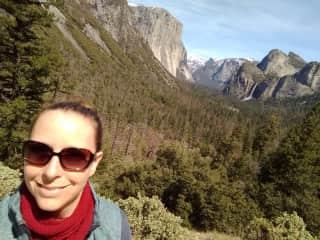 Aimee Haskew at Yosemite National Park, California, USA