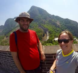 The Higelmire's at The Great Wall of China