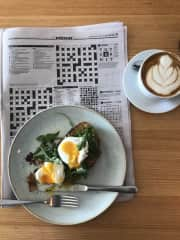 Brunch and the cryptic crossword