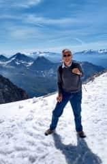 Peter on Mt Blanc 2019