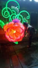 Me at the lantern festival